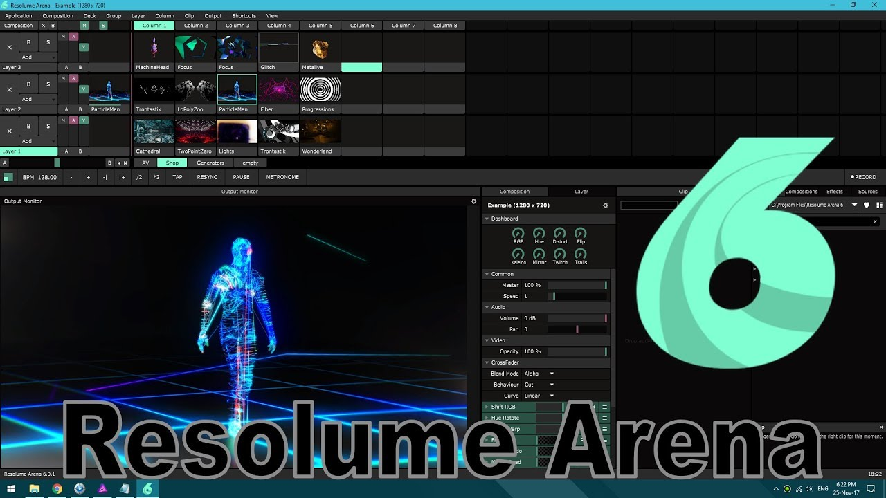 Details about Resolume Arena 7 Video Beamer Multimedia Software - VJ Tool,  auch LED WALL